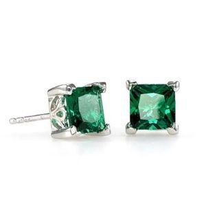 Emerald Earrings 2 carat